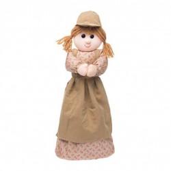 muñeca guarda bolsas