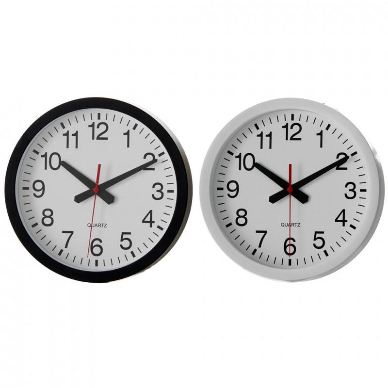 reloj 20cm blanco o negro