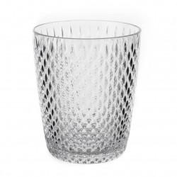 vaso transparente plástico