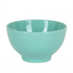 bol cerámica verde