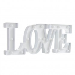 LETRAS LOVE LUZ LED