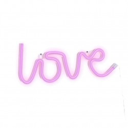 LOVE NEON PARED