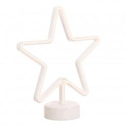 lampara neon estrella