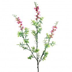 flor artificial anemona rosa