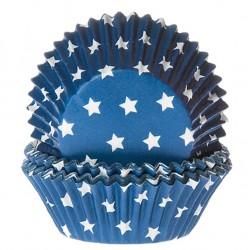 capsulas cupcakes estrellas