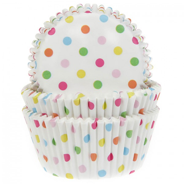 cápsulas para cupcakes confeti