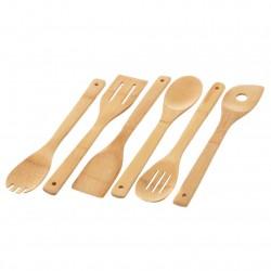 utensilios de bambú
