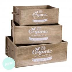 Caja 1 3 Organic Madera