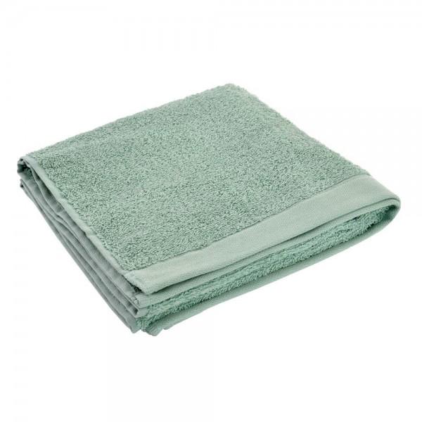 toalla lavabo verde