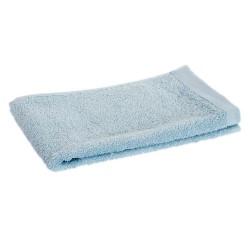 toalla tocador azul