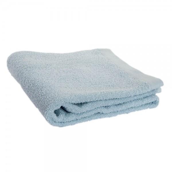 toalla lavabo azul