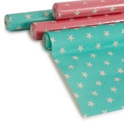 mantel de papel estrellas