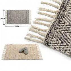 alfombra pie de cama