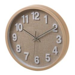 reloj de pared marron