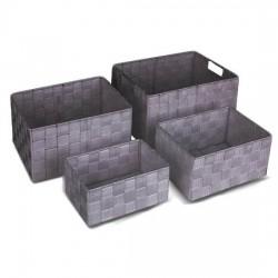 cesta ordenacion gris