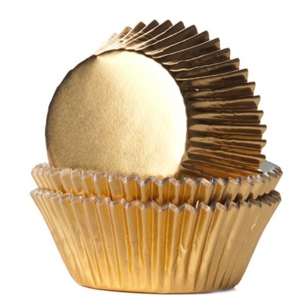 capsulas cupcakes oro