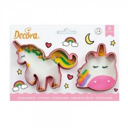 CORTADOR GALLETAS UNICORNIO