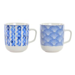 TAZA AZUL PORCELANA 380ML