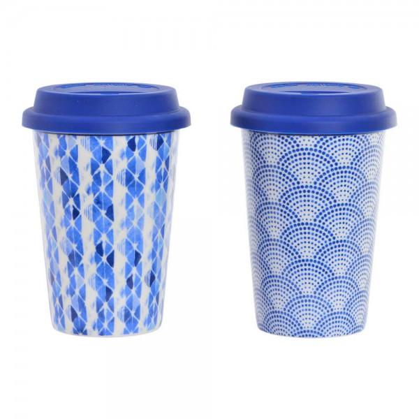 taza con tapa silicona