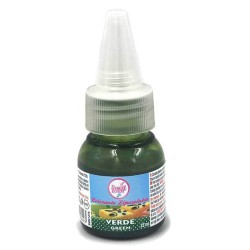 COLORANTE ALIMENTARIO VERDE LIPOSOLUBLE 35ML