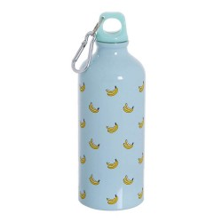 BOTELLA 600ML BANANAS ALUMINIO