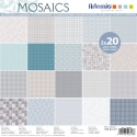 PAPELES DECORADOS - MOSAICO 40 UND 30x30cm