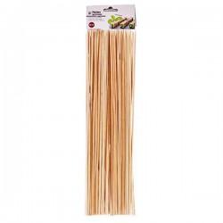 brochetas de bambu