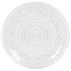 plato de vidrio