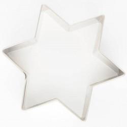 cortador de galletas estrella