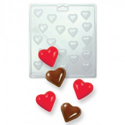 MOLDE MINI CORAZONES CANDY MELTS