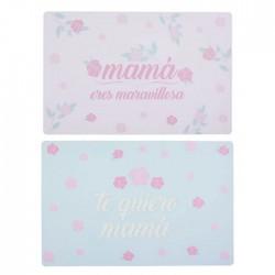 MANTEL INDIVIDUAL PVC - MAMÁ