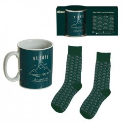 SET TAZA + CALCETINES ADVENTURE
