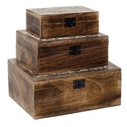 caja de madera decoracion