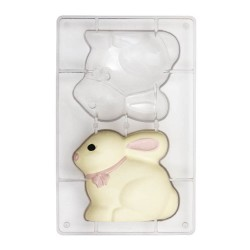 molde conejo 3d