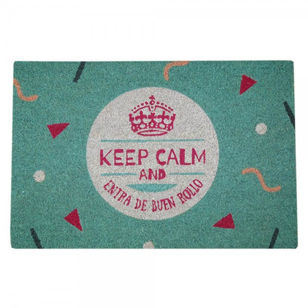 FELPUDO 40X60CM KEEP CALM