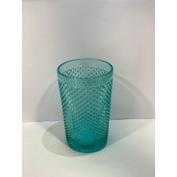 VASO TURQUESA 36CL DIAMANTE