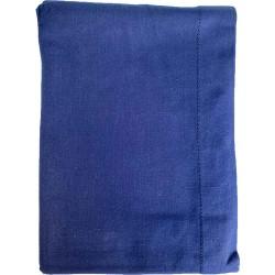 Mantel Azul Marino obscuro 100% algodón 150x250cm