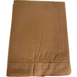 Mantel Beige 100%Algodón 150 x 250 cm