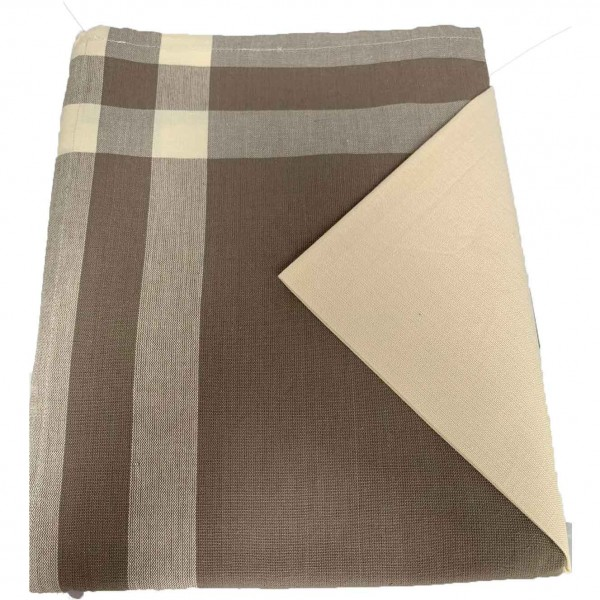 Mantel Beig 150x150 cm+ 4 servilletas 100% algodón