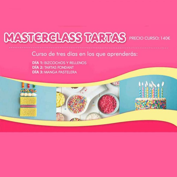 MASTER TARTAS 3 DIAS- MAÑANA MAYO