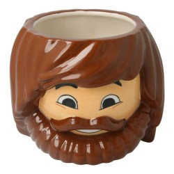 TAZA 540ML 3D PLAYMOBIL