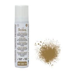 spray alimenticio oro