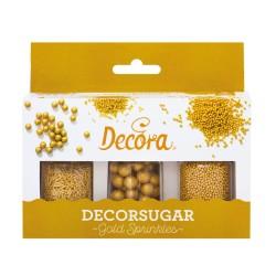 perlas de azucar doradas
