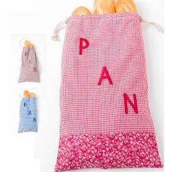 bolsa para guardar pan