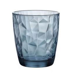 vasos de agua azules