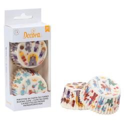 capsulas cupcakes infantiles