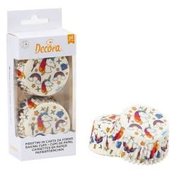 capsulas cupcakes unicornio