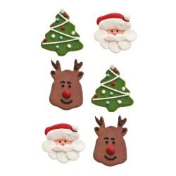 decoracion azucar navidad