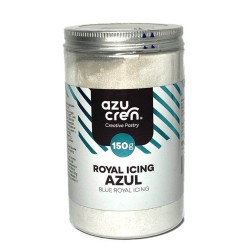 royal icing azul