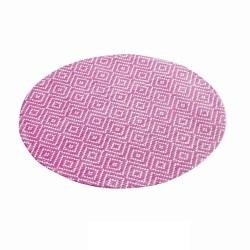 mantel individual rosa